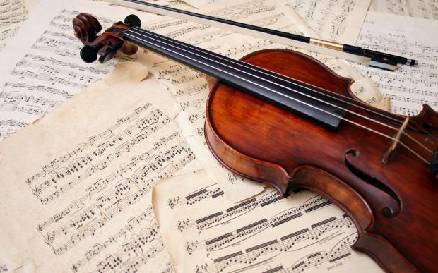 Instrument-Tone-Violin-Wallpaper